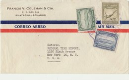 ECUADOR 1948? Cover To USA.BARGAIN.!! - Ecuador