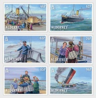 Alderney - Postfris / MNH - Complete Set 120 Jaar SS Stella 2019 - Alderney