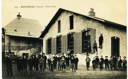 8210  Savoie - MONTMELIAN :  ECOLE  LIBRE ,  LES ENFANTS   ( Rare)  -  Circulée Sous Enveloppe - Montmelian