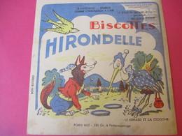 Buvard/Biscottes/HIRONDELLE/La Biscotte Naturelle/Le Renard Et La Cigogne  / SPRAE/CORBEIL-ESSONNES/Vers 1940-60  BUV427 - Zwieback