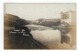 TOURNAI - 1918 L'ESCAUT - LE PONT SOYER (photo Carte) - Doornik