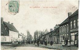 CAESTRE- La Rue De Bailleul- Voyagee 1906 N:58 - France