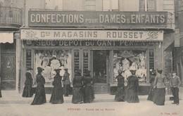 34/ Béziers - Devanture Magasins Rousset - Confections Dames Et Enfants - Beziers
