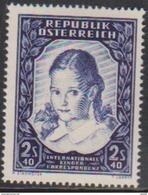 """Österreich 1952:  """"Intern.Kinderkorrespondenz""""  983 LUXUS Postfrisch - 1945-60 Neufs"""