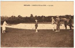 Sables-d'Or-les-Pins / Le Golf / Plan Pas Courant ... / Ed. Réant - France