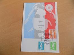 Carte Postale 1er Jour (FDC) France 1990 : Marianne Du Bicentenaire (3 Valeurs) - 1990-1999