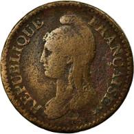 Monnaie, France, Decime, AN 5, Paris, TB, Cuivre, Gadoury:186 - 1789-1795 Monnaies Constitutionnelles