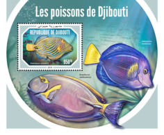 Djibouti 2018    Fauna   Fishes  S201901 - Djibouti (1977-...)