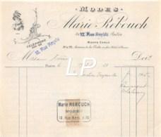 21-0737   1913 MODES MARIE REBOUCH A PARIS - M. CHENE - France