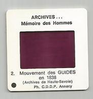Diapositive 74 Chamonix Mouvement Des Guides 1838 - Diapositives