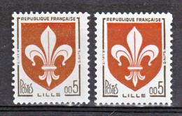 France 1230 A Nouveaux Francs Lille Gomme Tropicale Neuf ** TB MNH  Sin Charnela Cote 20 - Variétés: 1960-69 Neufs