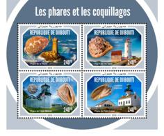 Djibouti 2018   Lighthouses And Shells   S201901 - Djibouti (1977-...)