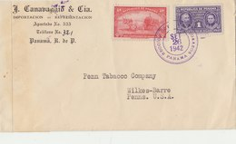 PANAMA 1942 Cover To USA. Examined By 6544.BARGAIN.!! - Panama