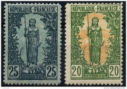Congo (1900) N 33 à 34 * (charniere) - Neufs