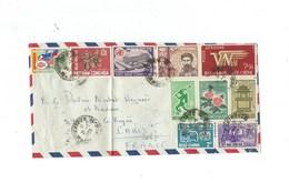 INDOCHINE VIETNAM Ex Colonies Françaises Timbres Sur Lettre Bien - Indochina (1889-1945)