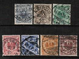 GERMANY  Scott # 45-51 VF USED (Stamp Scan # 456) - Germany