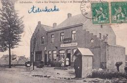 """- BELGIQUE - Adinkerke : Café """" Au Drapeau Belge """"  Et Bureau Des Douanes Belges - De Panne"""