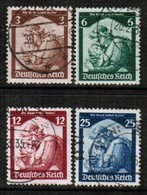 GERMANY  Scott # 448-51 VF USED (Stamp Scan # 456) - Used Stamps