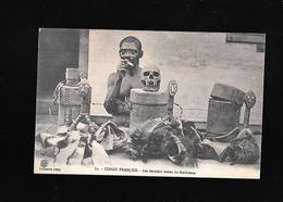 C.P.A. DES DERNIERS RESTES DU FETICHISME AU CONGO FRANCAIS... - Congo Français - Autres