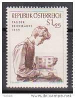 """Österreich 1955: """" Tag Der Briefmarke""""   Postfrisch - 1945-.... 2ª República"""