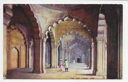 The Moti Musjid, Agra - Tuck Oilette 7237 - India
