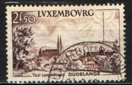 LUSSEMBURGO - 1955 - TELEVISIONE - TELE-LUXEMBURG - USATO - Lussemburgo