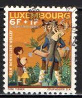 LUSSEMBURGO - 1966 - FAVOLE DEL LUSSEMBURGO: IL LUPO DI DONKOLZ - USATO - Usati
