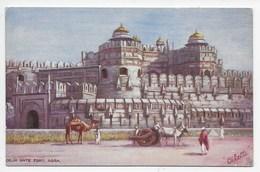 Delhi Gate Fort, Agra - Tuck Oilette 7237 - India