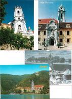 1698x: 3 AKs 3601 Dürnstein, Ungelaufen, Plus 7 Privatfotos - Krems An Der Donau