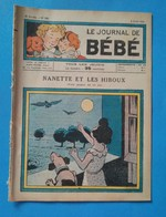 Le Journal De Bébé, Nanette Et Les Hiboux, 2 Août 1934, 6e Année No 143 - Magazines Et Périodiques