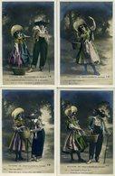 HISTOIRE DE CHATAIGNES (en Auvergne) Série De 10 Cartes Neuves (2139) - Personnages