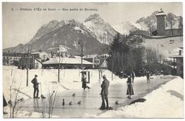 Château-d'Œx En Hiver - Une Partir De Hockney - C1912 Buchner Curling - VD Vaud