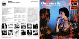 Superlimited Edition CD Herbert Seiter. BARMUSIK. - Jazz
