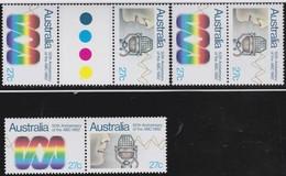 Australia   .    SG     .     847a  3x     .     **      .     MNH    .   /   .    Postfris - 1980-89 Elizabeth II