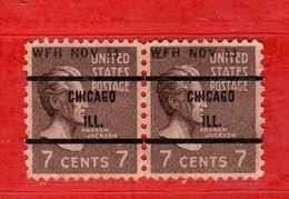 (Us2) USA °- 1938 - Série Courante, Présidents. A. Jackson. 7 C. Yvert 377.   USED.  Vedi Descrizione - Stati Uniti