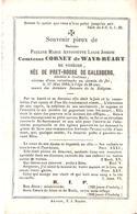 Faire-part Décès Pauline Comtesse CORNET De WAYS-RUART De Vonêche Godinne 17/5/1864. - Obituary Notices