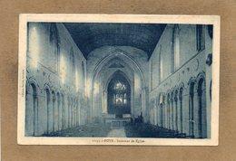 CPA - ROTS (14) - Aspect De L'intérieur De L'Eglise Dans Les Années 30 - France