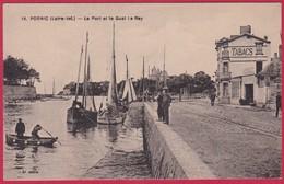 44 - PORNIC  Le Port Et Le Quay Le RAY - Pornic