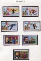 11405  COMORES  Collection Vendue Par Page   N° 138/41 + 142/4 **  1976   TB/TTB - Comores (1975-...)