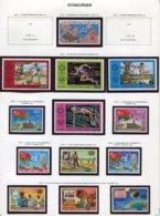 11406  COMORES  Collection Vendue Par Page   N° 104 + 150/61 **  1975-76   TB/TTB - Comores (1975-...)