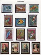 11409  COMORES  Collection Vendue Par Page   N° 191/9 + 208/11  **  1977-78   TB/TTB - Comores (1975-...)