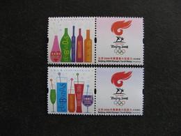 HONG-KONG : TB Paire N° 1298B Et N° 1300B, Neufs XX. - 1997-... Région Administrative Chinoise