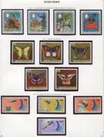 11411  COMORES  Collection Vendue Par Page   N° 216/9 + 220/74 + 225/8  **  1978   TB/TTB - Comores (1975-...)