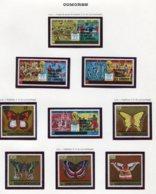 11414  COMORES  Collection Vendue Par Page   N° 256/9 + 260/4  **  1979   TB/TTB - Comores (1975-...)
