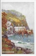 The Harbour, Clovelly - Tuck Oilette 7233 - Clovelly