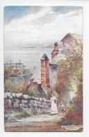 The Harbour Road, Clovelly - Tuck Oilette 7233 - Clovelly