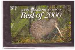 NEW ZEALAND   - REWARDS BEST OF  2000  OF 3 MINIATURE SHEETS WITH PACK - Blocchi & Foglietti