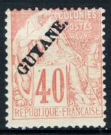 Guyana 1892 Y.T.26 */MH VF/F - Neufs