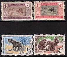 Mauritanie - Colonie Française Et République - Collection Depuis 1913 - 4 Timbres - Oblitérés