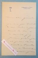 L.A.S LE QUEYROIX Par Labarre De VEYRAC - Haute Vienne - Lettre à Un Général - Signataire à Identifier Lettre Autographe - Autographs